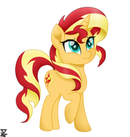 Sunset Shimmer Mlp The Movie Vector by TheRETROart88