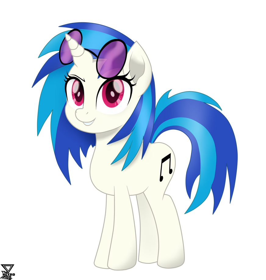 Vinyl Scratch Mlp The Movie Vector By Theretroart88 On