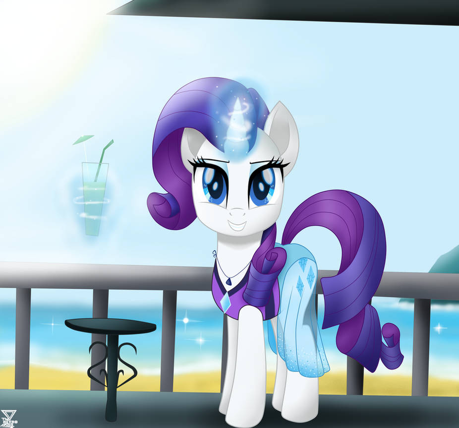 rarity_in_the_beach_by_theretroart88_dd2