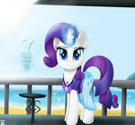 Rarity in the beach by TheRETROart88