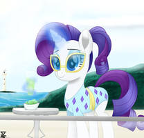 Rarity in the beach 2 (BONUS) by TheRETROart88