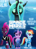 My Little Pony SPACE MARES MOVIE G5 (1990) by TheRETROart88