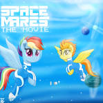 Rainbow Dash G5 SPACE MARES MOVIE (1990) by TheRETROart88