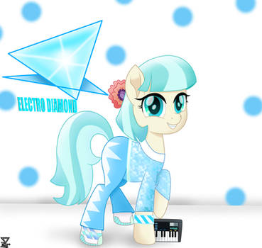 coco pommel a new style (1989) by TheRETROart88
