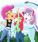 CMC Keep Yourself Alive (EQG) by TheRETROart88