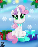 Sweetie belle Holidays by TheRETROart88