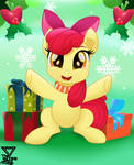Applebloom holidays by TheRETROart88