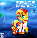 Sunset shimmer G5 Space Mares 1990