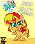 Meet Sunset shimmer in Pony life