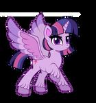 Twilight sparkle G4.5 vector