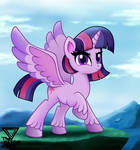 Twilight sparkle spectacular view