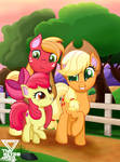 Apple Brothers ride by TheRETROart88