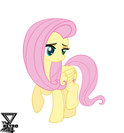 Fluttershy pretty Vector by TheRETROart88