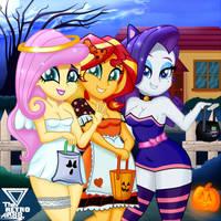 <b>Trick Or Kiss!!! (Halloween Special)</b><br><i>TheRETROart88</i>