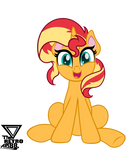 Sunset Shimmer Vector pony life style