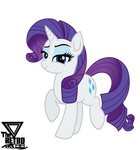 Rarity Fabulous Vector (Original G4 version) by TheRETROart88