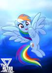 Rainbow Dash Flying (Rainbow dash day)