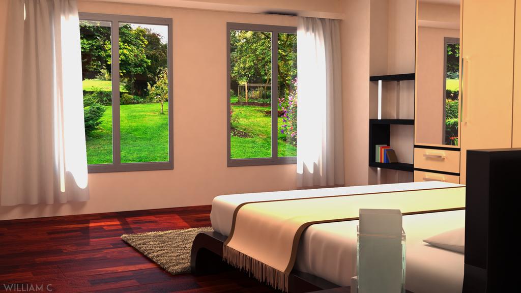 bedroom interior design part 2 3dsmax 3dsmaxrender interior