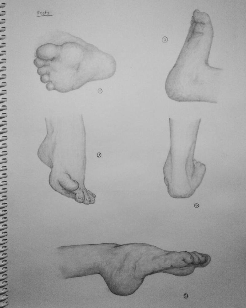 Drawings of 5 feet by ArtByRandy