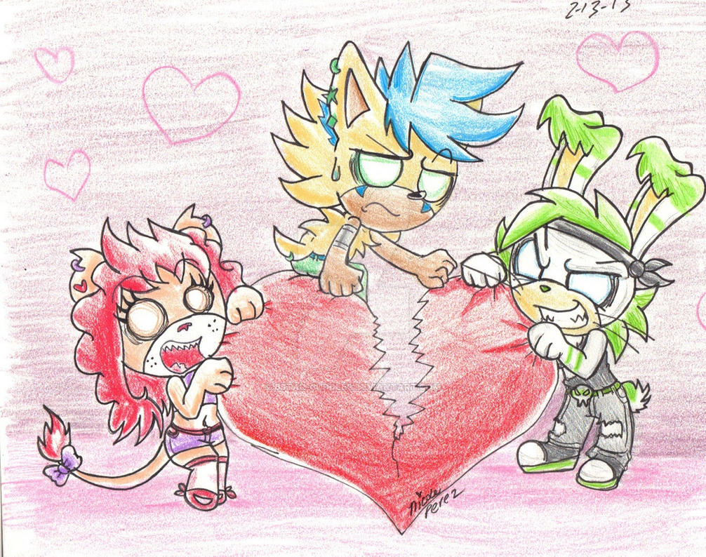 Happy Valentine's Day  from Team  Party by Bstar-Cuddles