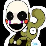 FNAF- Marionette and Plushtrap