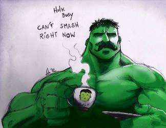 Hulk no Smash by Morier23