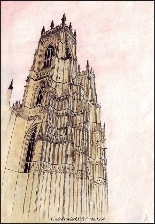 York Minster by XFadedToBlackX