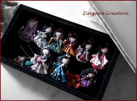 my last creations!!! by zingaracreativa