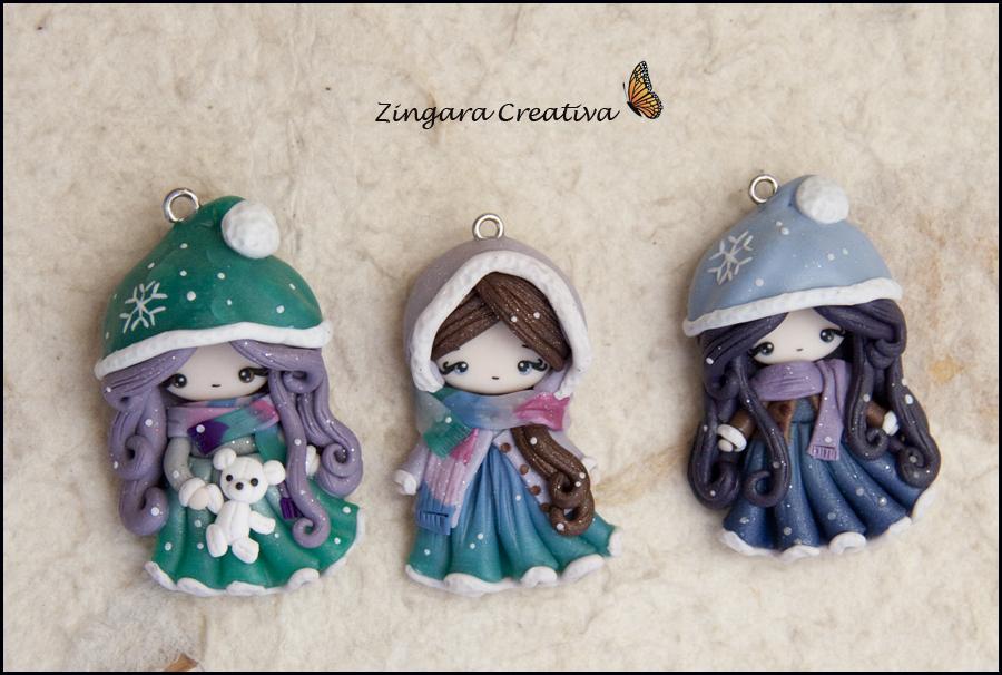 winter ladies by zingaracreativa
