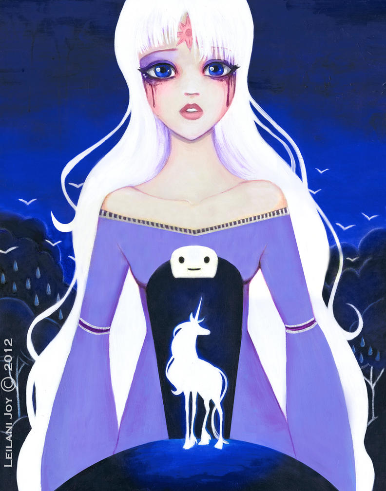 The Last Unicorn by LeilaniJoy