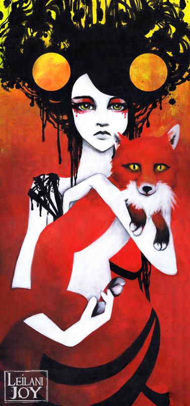 Fauna, the Huntress by LeilaniJoy