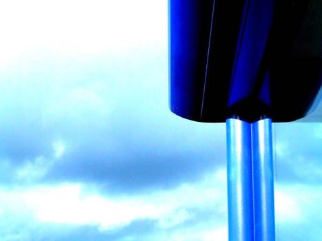 blue post mirror