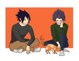 Amajiki and Shinsou