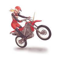 Glee - Motocross Brittany