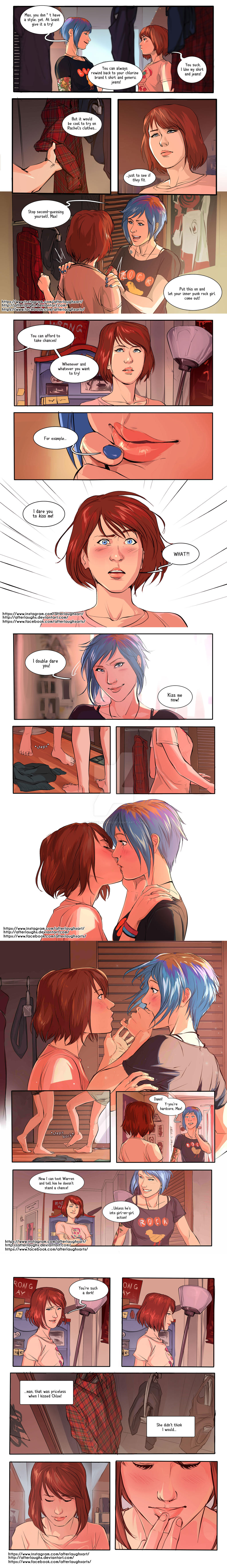 Chloe x Max - I Dare You to Kiss me by Afterlaughs