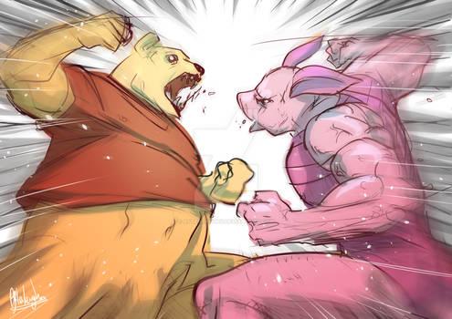 Winnie the Pooh VS Piglet