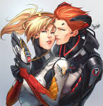 OW - Moira and Mercy