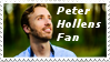 :Peter Hollens fan: stamp by GrellTheShinigami52