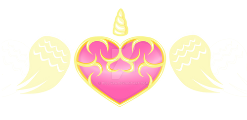 Commission Cutie Mark Gold Heart