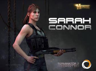 Sarah Connor by KEileena