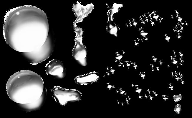 Kapky Vody  Png