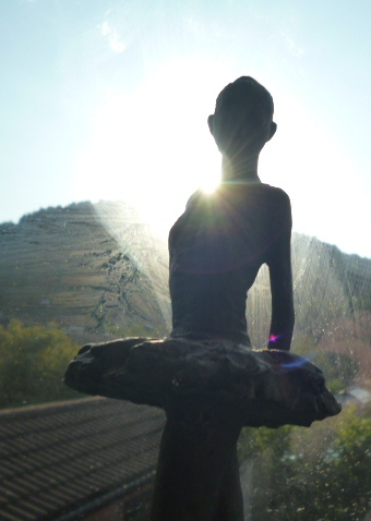 Ballerina Statue. by Jazzygir1