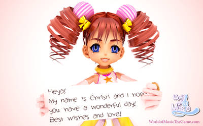 Christi Sharp saying Hello!