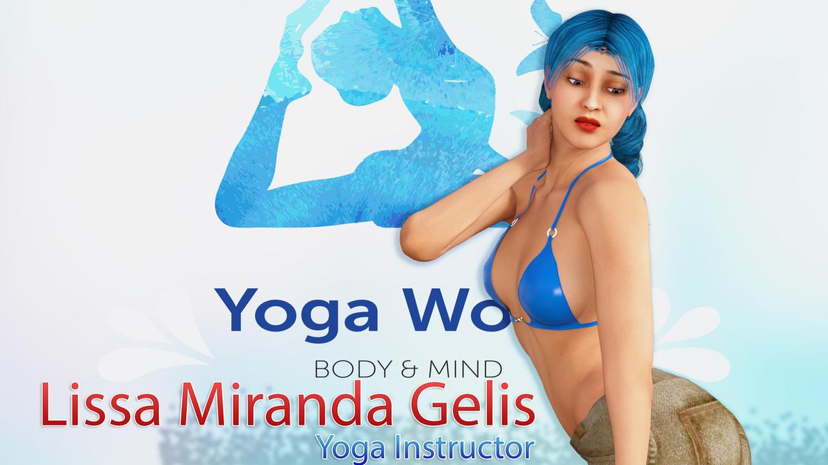 Lissa the Yoga Trainer by HyperAnimator