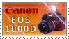 Canon EOS 1000D STAMP by nightmare-sc4