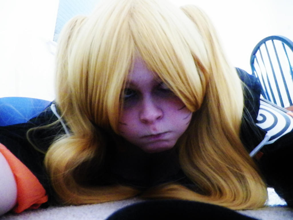 Naruko - I'm a puffer fish! by KaseySaixChanCosplay