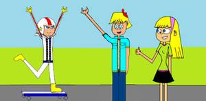 Kick Buttowski - Kick Skateboarding