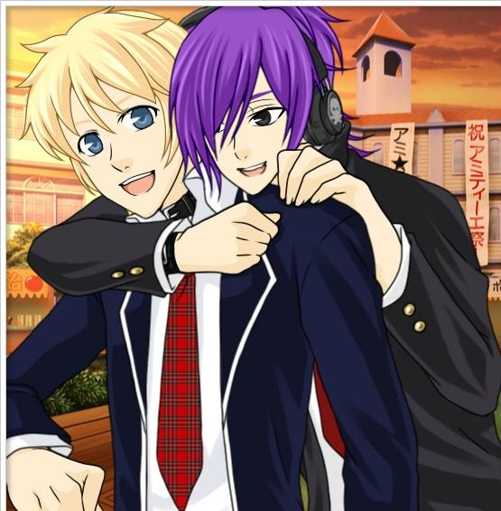 kick buttowski anime school bromance by kbinitiald on