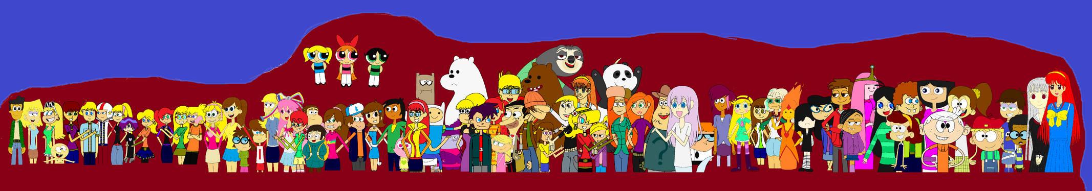 Gather Up! Cartoon's Representatives!!