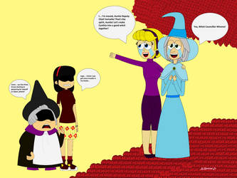The Garfield Show - Witches Alliance Established by TakHojo762